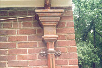 Historic Roofing Company Inc Copper Gutters And